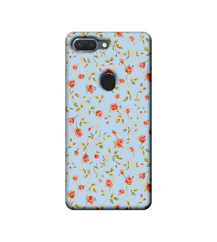 Oppo Realme 2 Mobile Cover Printed Designer Case Floral Pattern two