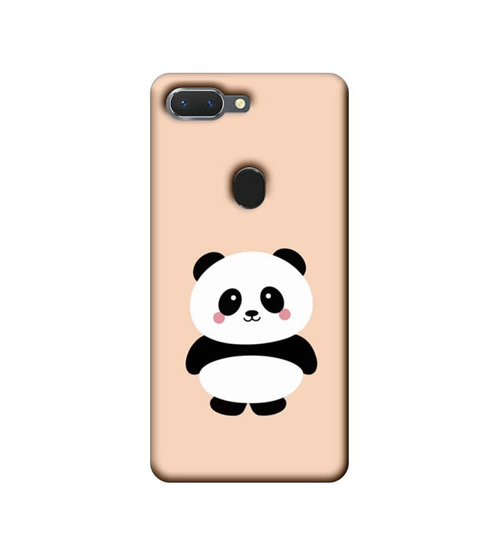 Oppo Realme 2 Mobile Cover Printed Designer Case Cute Panda