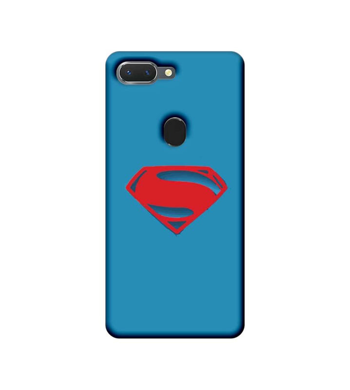 Oppo Realme 2 Mobile Cover Printed Designer Case Superman Logo 2.0