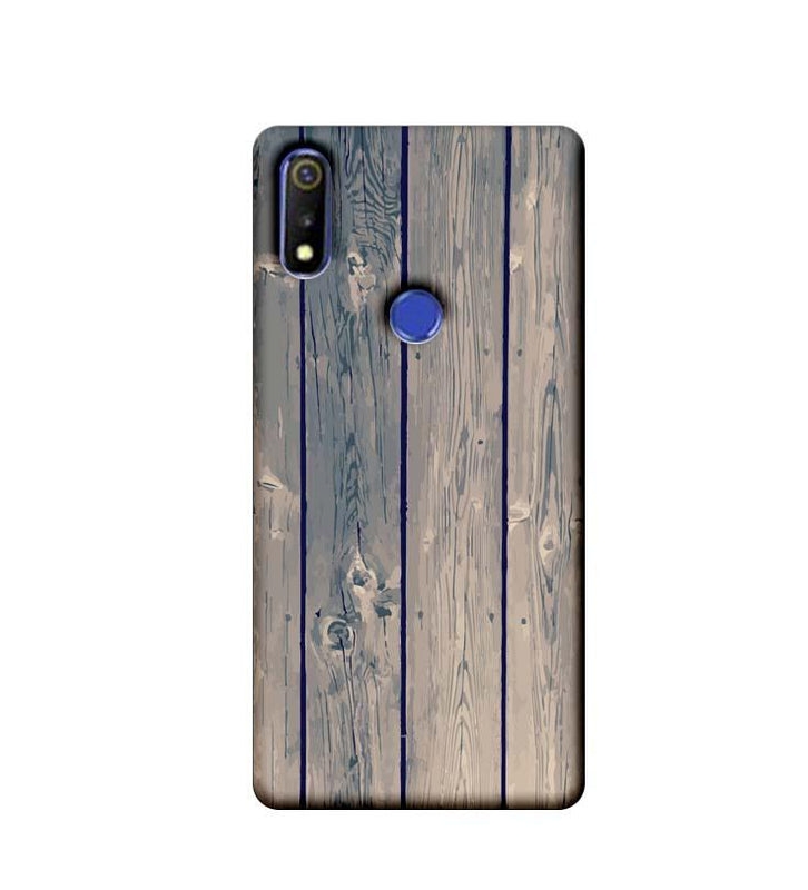 Oppo Realme 3 Mobile Cover Printed Designer Case Dust Wood
