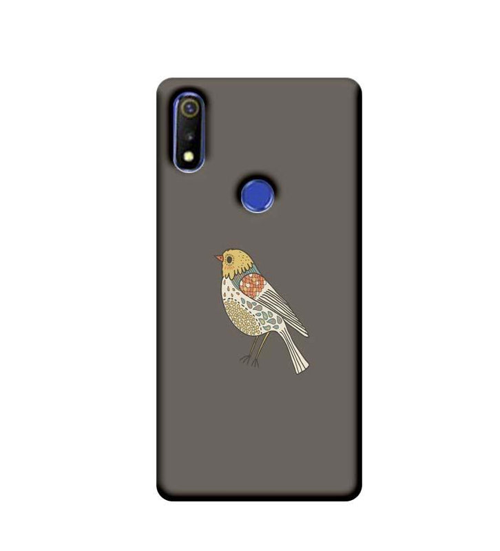 Oppo Realme 3 Mobile Cover Printed Designer Case Bird Art