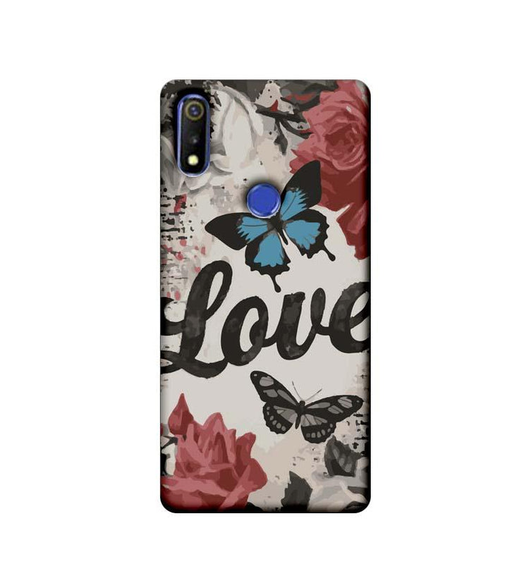 Oppo Realme 3 Mobile Cover Printed Designer Case Love
