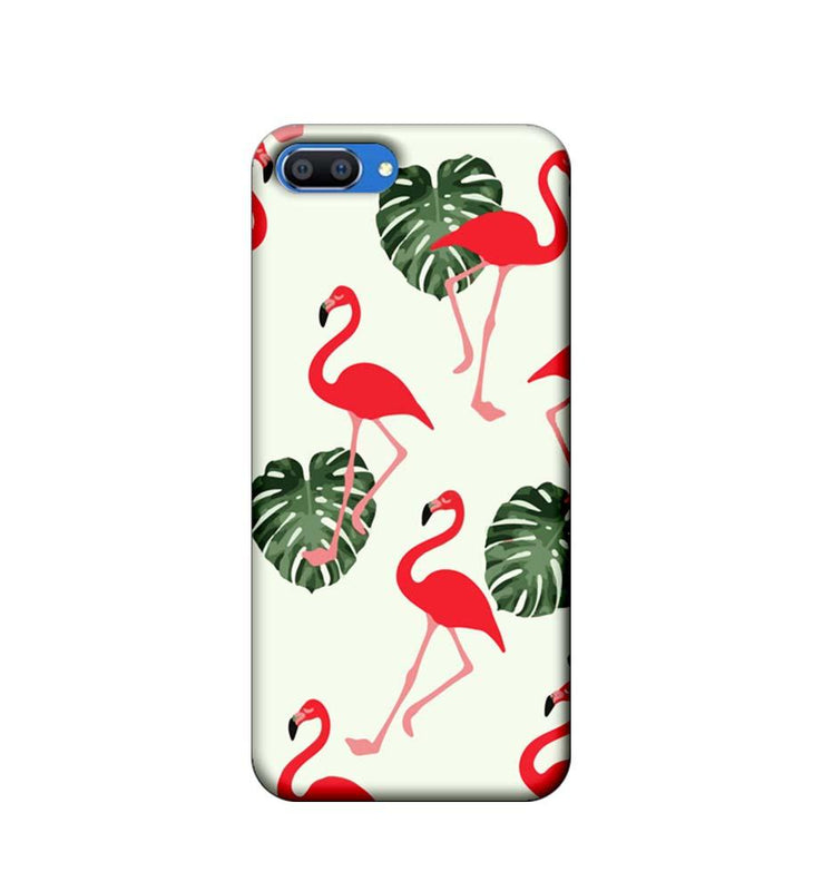 Oppo Realme C1 Mobile Cover Printed Designer Case Flamingo