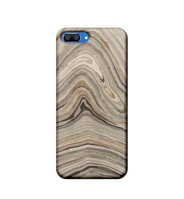 Oppo Realme C1 Mobile Cover Printed Designer Case Yash Colour Marble
