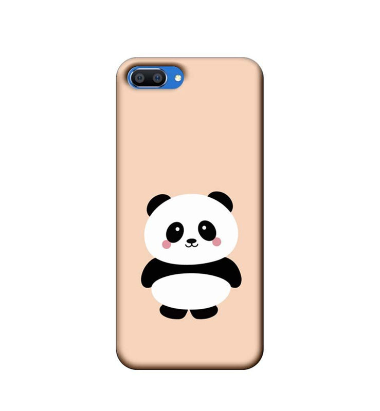 Oppo Realme C1 Mobile Cover Printed Designer Case Cute Panda