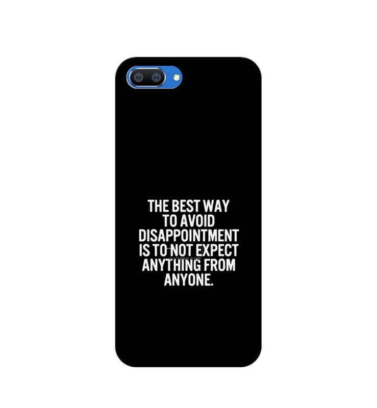 Oppo Realme C1 Mobile Cover Printed Designer Case The Best Way