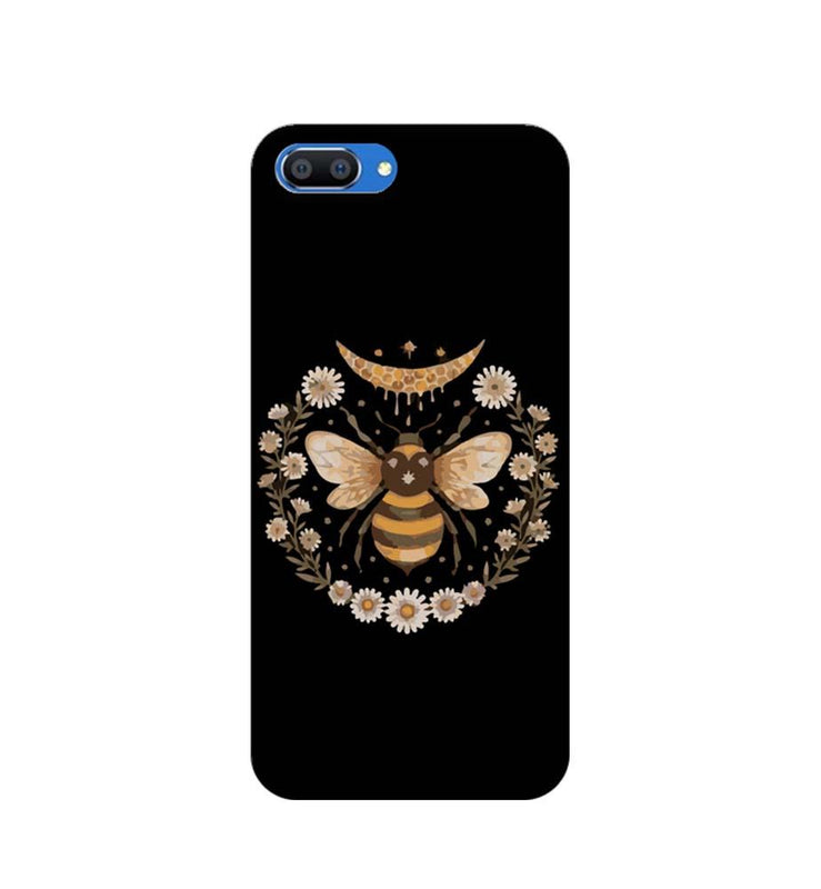 Oppo Realme C1 Mobile Cover Printed Designer Case Honey Bee