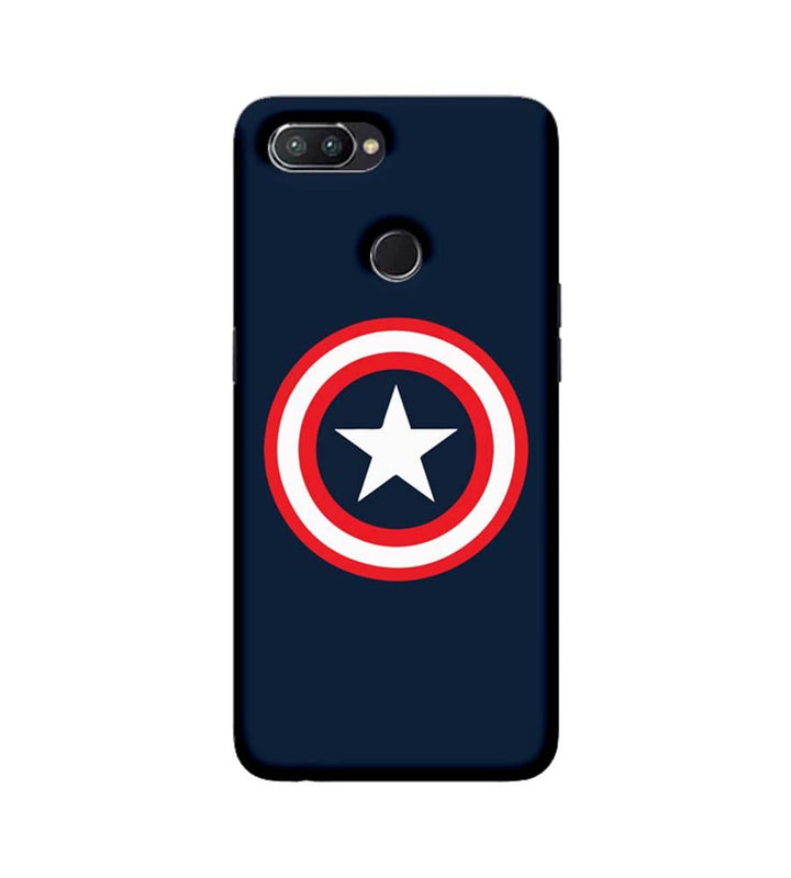 Oppo Realme U1 Mobile Cover Printed Designer Case Captain America illustration