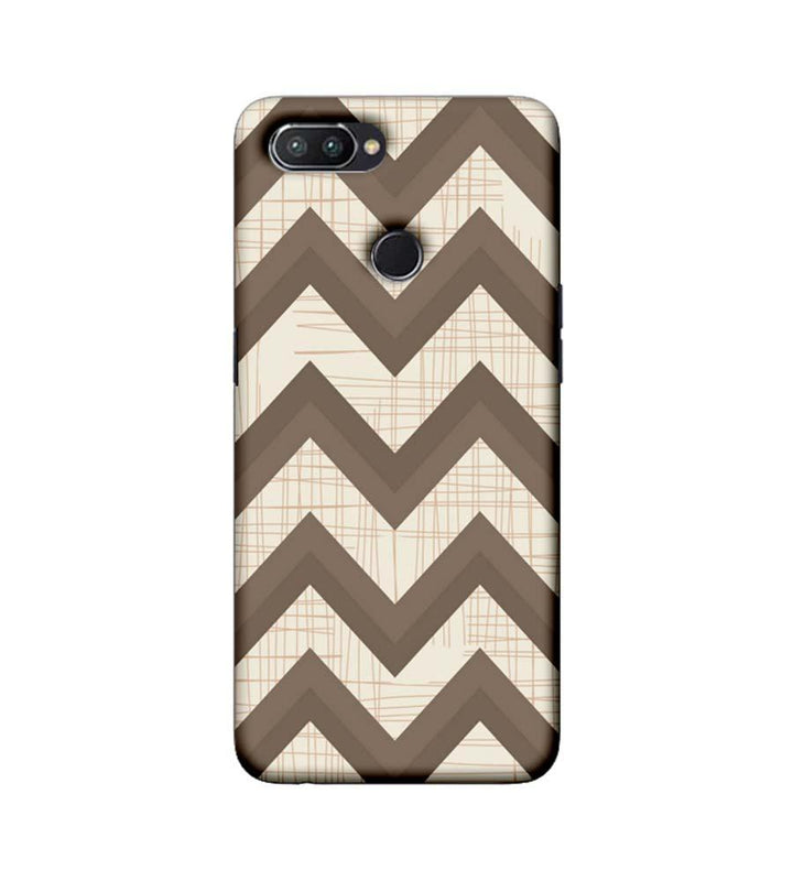 Oppo Realme U1 Mobile Cover Printed Designer Case Elephant colour Zigzag