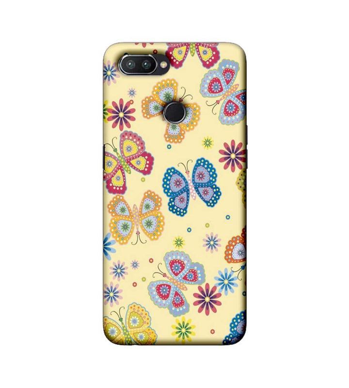 Oppo Realme U1 Mobile Cover Printed Designer Case Butterflies