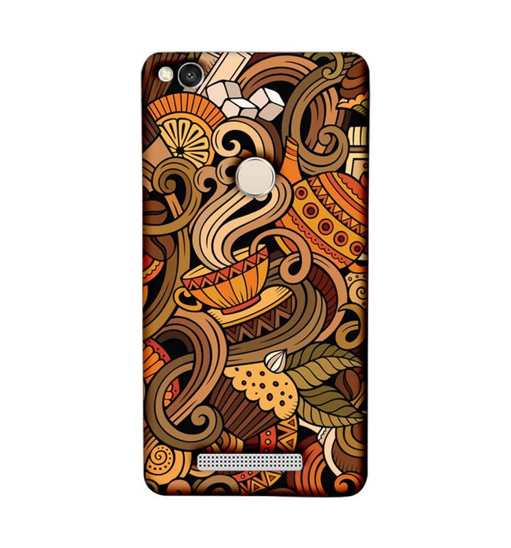 Xiaomi Redmi 3s Prime Mobile Cover Printed Designer Case Coffee Cup Art