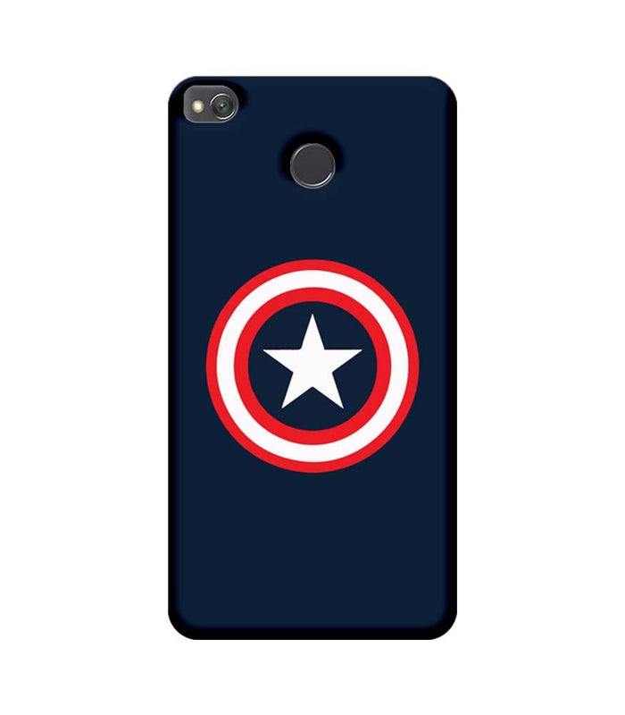 Xiaomi Redmi 4 / 4X Mobile Cover Printed Designer Case Captain America illustration