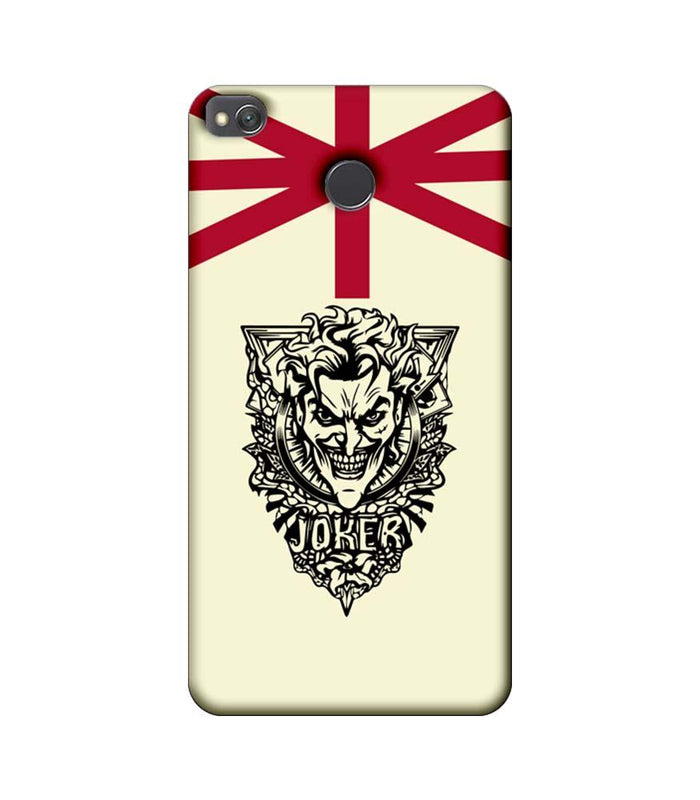 Xiaomi Redmi 4 / 4X Mobile Cover Printed Designer Case Joker