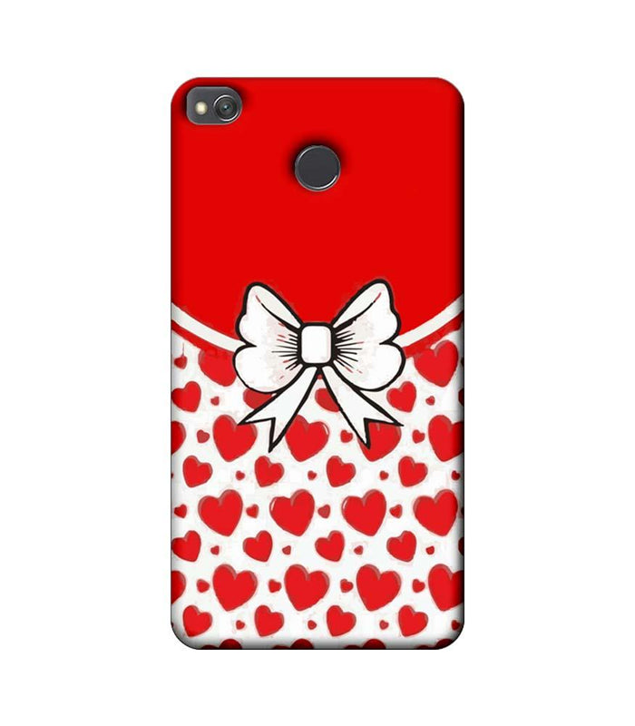Xiaomi Redmi 4 / 4X Mobile Cover Printed Designer Case Red Hearts