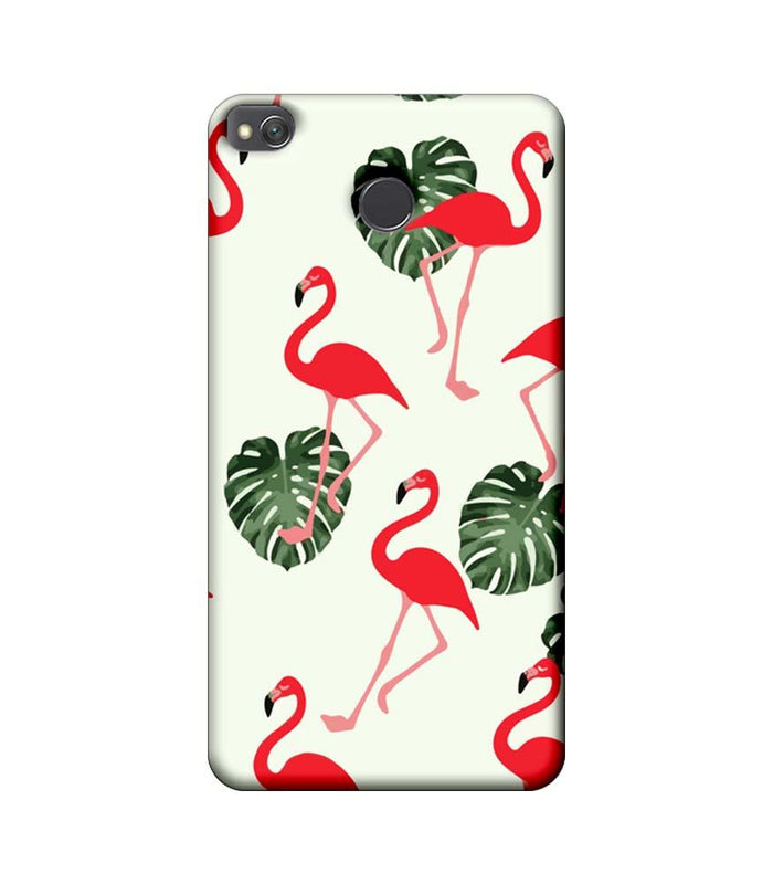 Xiaomi Redmi 4 / 4X Mobile Cover Printed Designer Case Flamingo