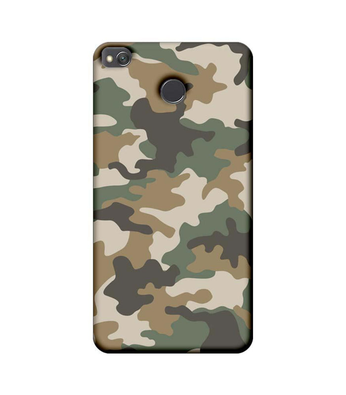 Xiaomi Redmi 4 / 4X Mobile Cover Printed Designer Case Military Pattern
