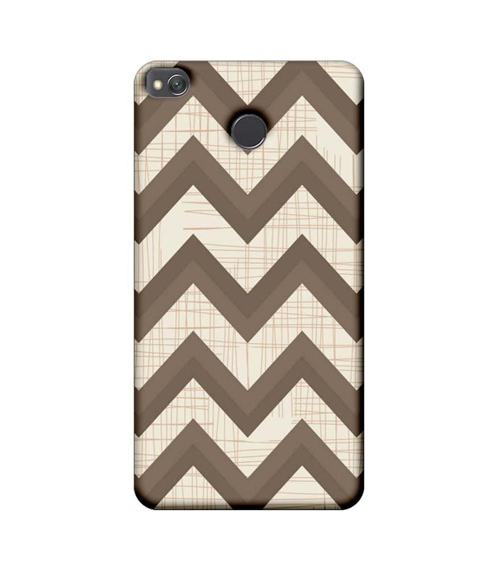 Xiaomi Redmi 4 / 4X Mobile Cover Printed Designer Case Elephant colour Zigzag