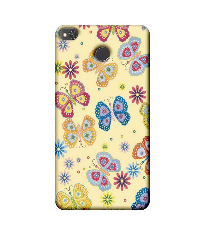 Xiaomi Redmi 4 / 4X Mobile Cover Printed Designer Case Butterflies