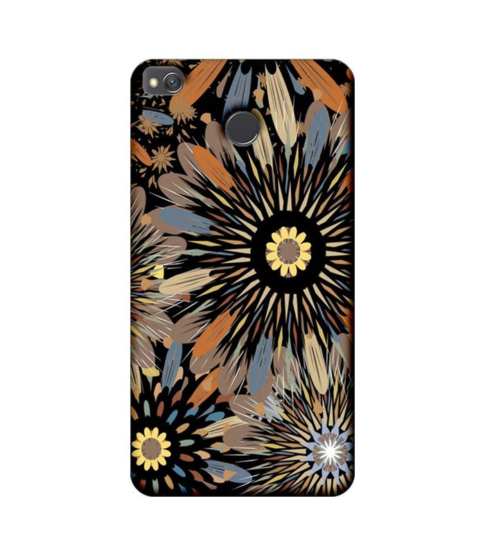 Xiaomi Redmi 4 / 4X Mobile Cover Printed Designer Case Floral Art 2.0