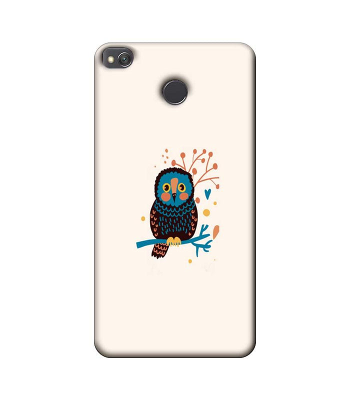 Xiaomi Redmi 4 / 4X Mobile Cover Printed Designer Case colourful owl