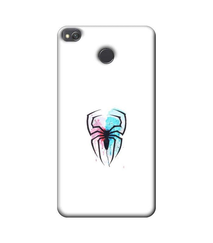 Xiaomi Redmi 4 / 4X Mobile Cover Printed Designer Case Spiderman Logo