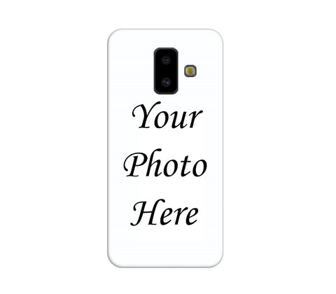Samsung Galaxy J6 Plus Back Cover Personalised Printed Case