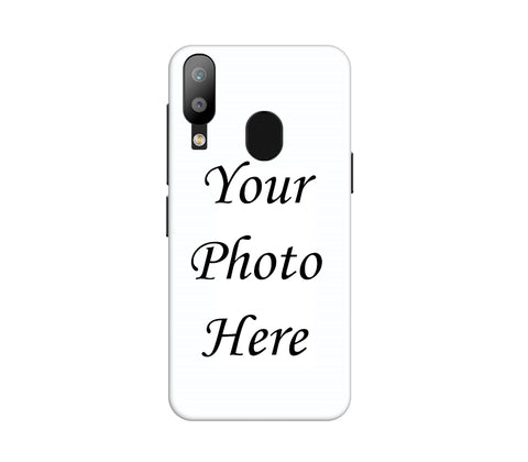 Samsung Galaxy M20 Back Cover Personalised Printed Case