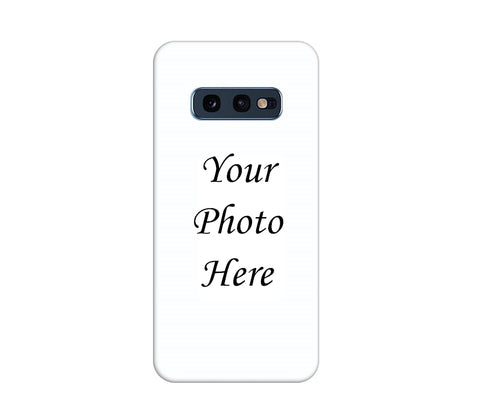 Samsung Galaxy S10e Back Cover Personalised Printed Case