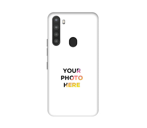 Samsung Galaxy A21 Back Cover Personalised Printed Case