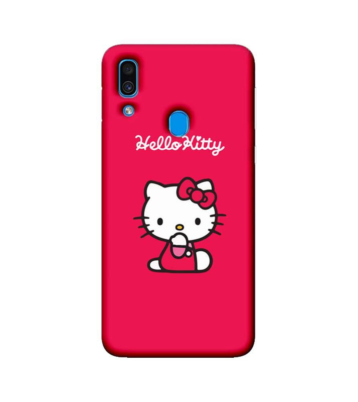 new product 1a4d7 18ed5 Samsung Galaxy A30 Mobile Cover Printed Designer Case Hello Kitty