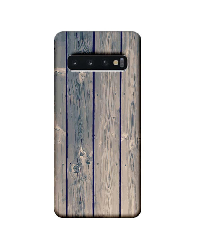 Samsung Galaxy S10 Mobile Cover Printed Designer Case Dust Wood