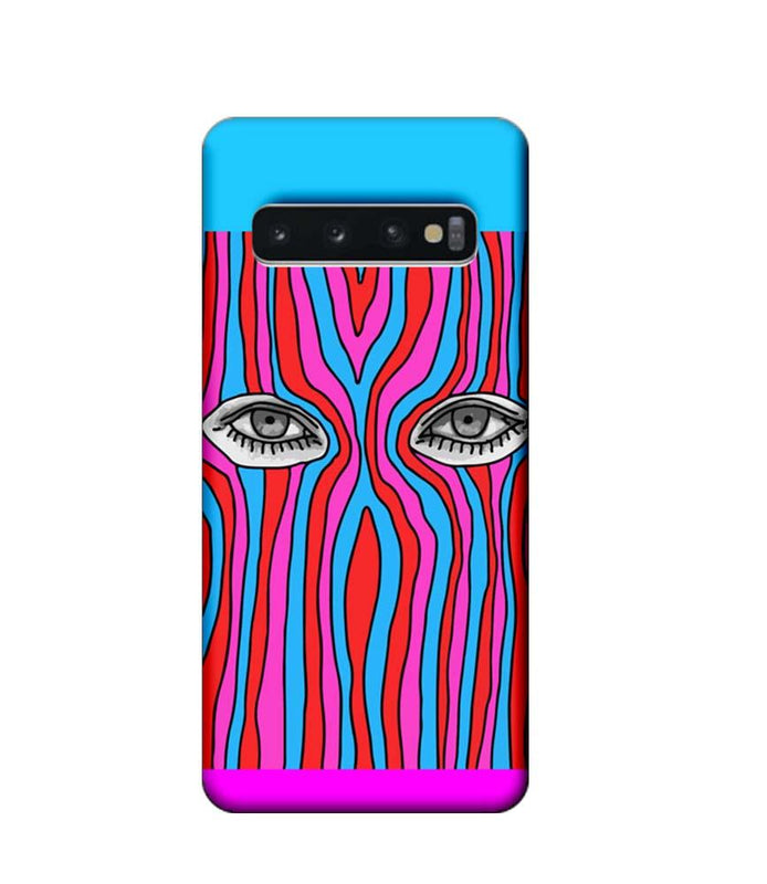 Samsung Galaxy S10 Mobile Cover Printed Designer Case Eyes