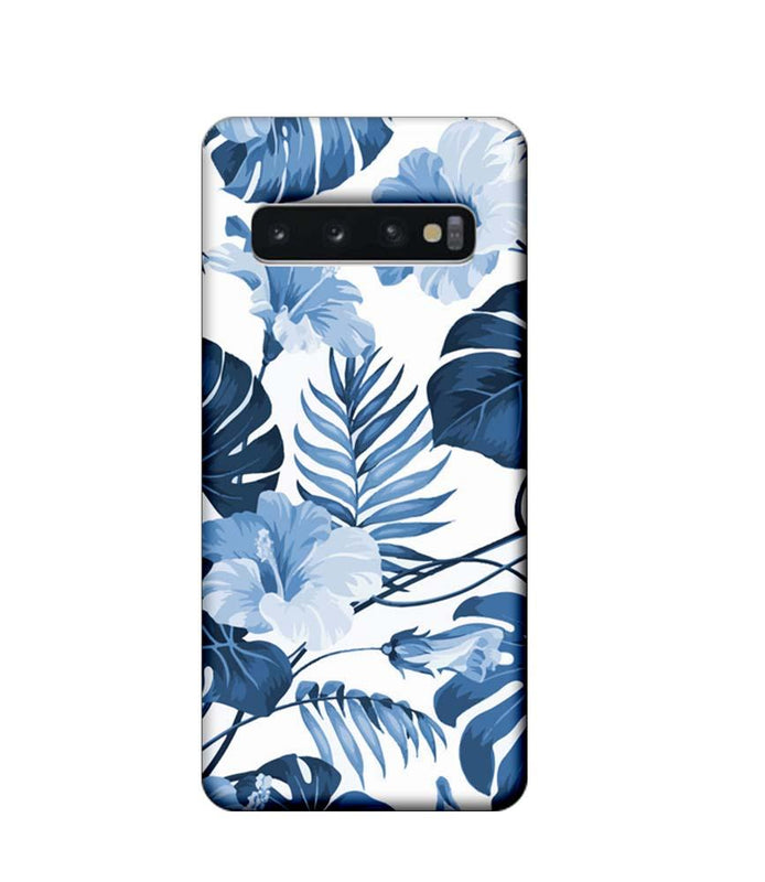 Samsung Galaxy S10 Mobile Cover Printed Designer Case Floral Pattern