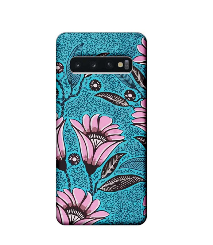 Samsung Galaxy S10 Mobile Cover Printed Designer Case Pinkish Floral