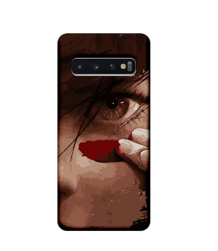 Samsung Galaxy S10 Mobile Cover Printed Designer Case Eye