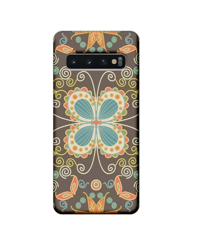 Samsung Galaxy S10 Mobile Cover Printed Designer Case Butter Fly illustrator