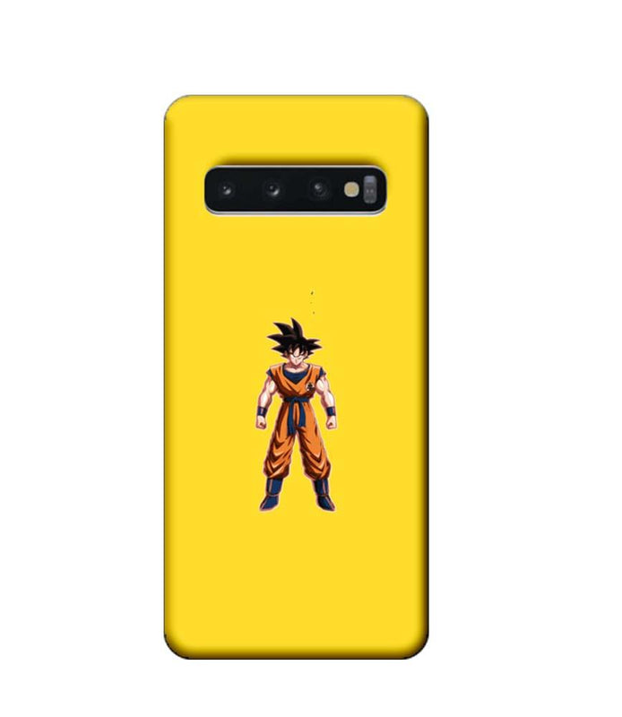 Samsung Galaxy S10 Mobile Cover Printed Designer Case Dragon Ball