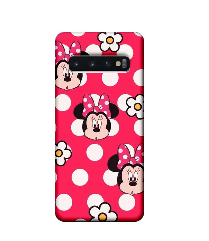 Samsung Galaxy S10 Mobile Cover Printed Designer Case Mickies