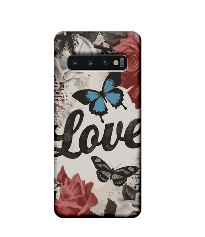 Samsung Galaxy S10 Mobile Cover Printed Designer Case Love