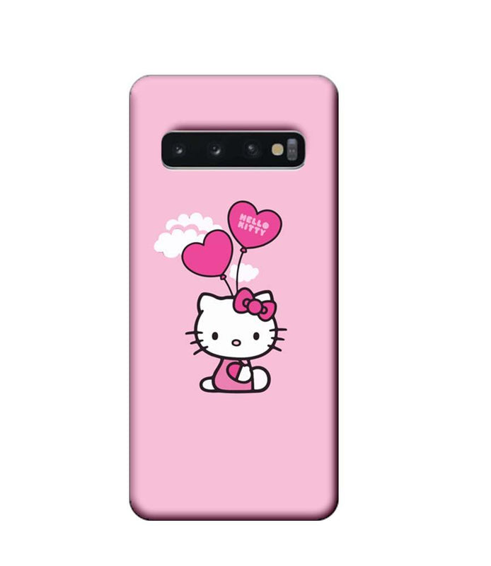 Samsung Galaxy S10 Mobile Cover Printed Designer Case Hello Kitty 2.0