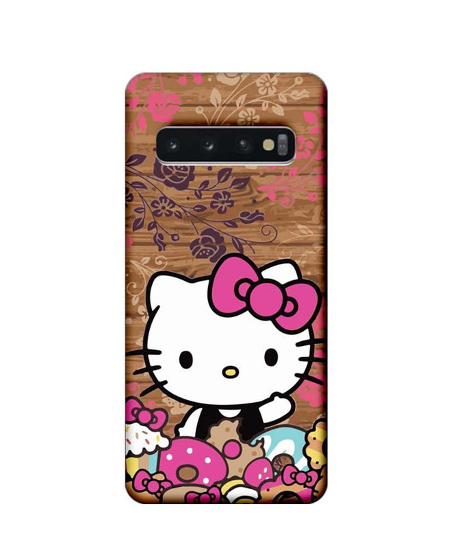 Samsung Galaxy S10 Mobile Cover Printed Designer Case Hello Kitty 3.0