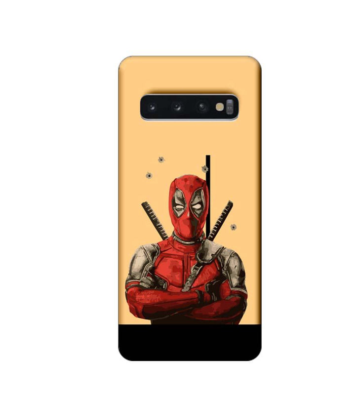 Samsung Galaxy S10 Plus Mobile Cover Printed Designer Case Dealpool