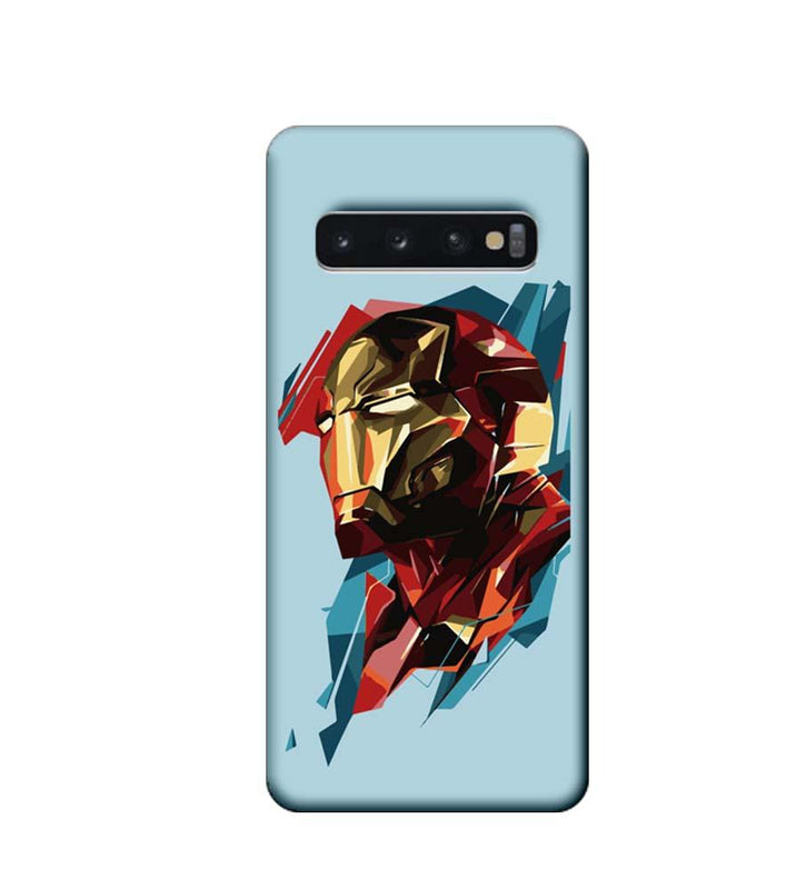 Samsung Galaxy S10 Plus Mobile Cover Printed Designer Case Ironman illustration 2.0