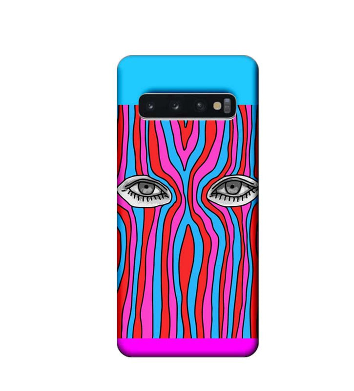 Samsung Galaxy S10 Plus Mobile Cover Printed Designer Case Eyes