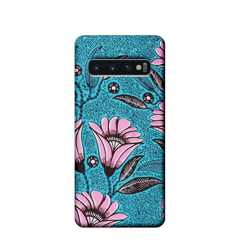 Samsung Galaxy S10 Plus Mobile Cover Printed Designer Case Pinkish Floral