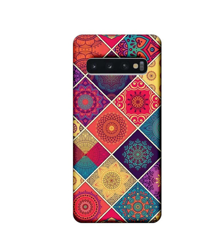 Samsung Galaxy S10 Plus Mobile Cover Printed Designer Case Indian Arts