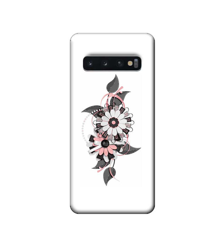 Samsung Galaxy S10 Plus Mobile Cover Printed Designer Case Floral Pattern