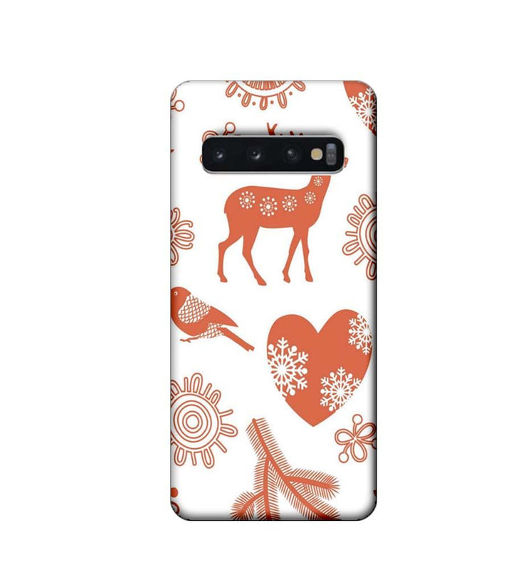 Samsung Galaxy S10 Plus Mobile Cover Printed Designer Case Indian Art 2.0