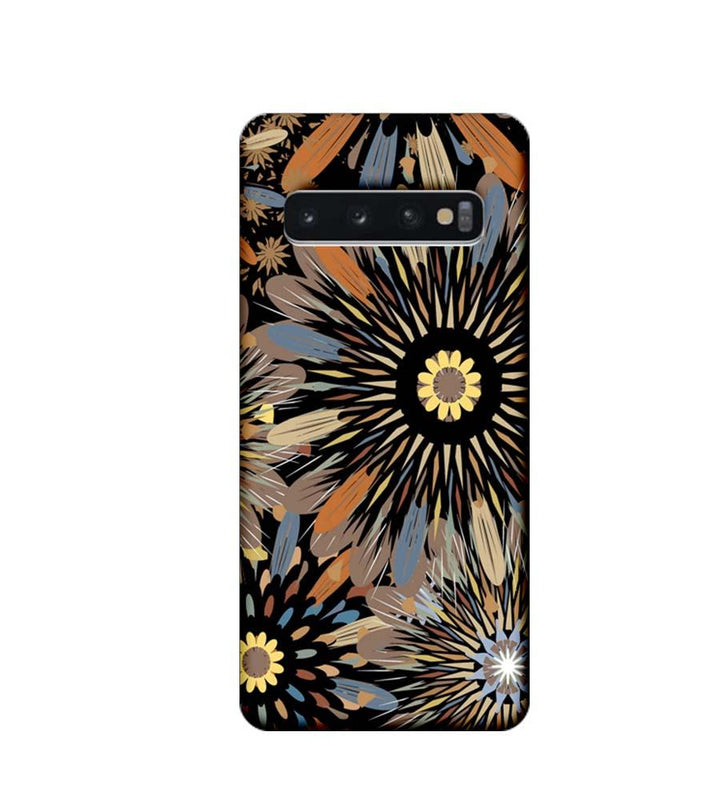 Samsung Galaxy S10 Plus Mobile Cover Printed Designer Case Floral Art 2.0