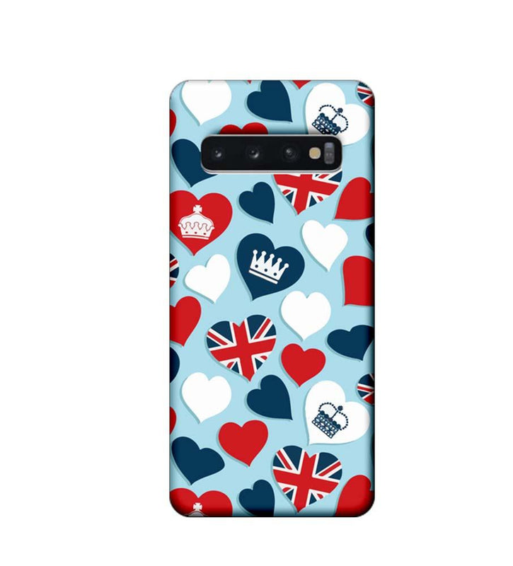 Samsung Galaxy S10 Plus Mobile Cover Printed Designer Case I Love London